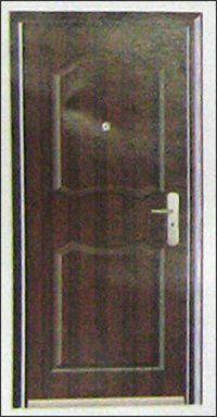 Two Panel Steel Doors