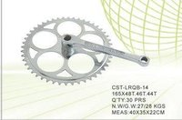 Bicycle Chainwheel Crank