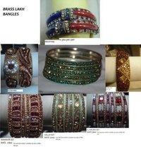 Designer Brass Lakh Bangles