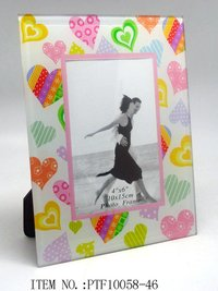 Paster Glass Photo Frame