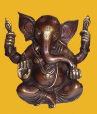 Ganesha Appu Shape 4 Arms And W/Out Base