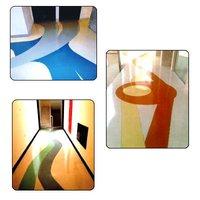 Commercial Epoxy Terrazzo Floorings
