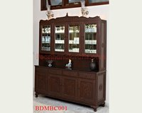 Carved Teak Bar Counters