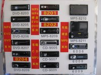Car Dvd With Mp5 (Jgm8206)