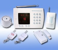 16 Wireless Zones LED Display Home Alarm System