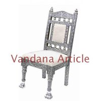 Antique Design Silver Chair