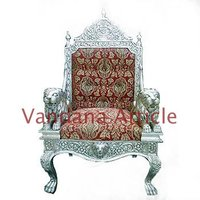 Decorative Silver Chair