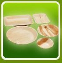 Disposable Acra Leaf Plates