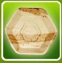 Hexagonal Acra Leaf Plates