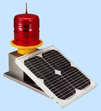 LED Solar Powered Low Intensity Aviation Obstacle Light