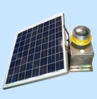 Led Solar Powered Medium Intensity Type A Aviation Obstacle Light