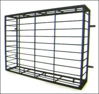Window grills powder coated window grills powder coated for Balcony grills enclosure designs in india