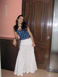 Cotton Khadi Printed Skirt