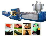Pe Double Wall Corrugation Pipe Production Line