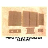 Groove Rubber Sole Plates