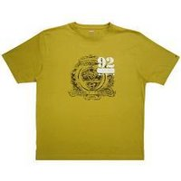 Honey Gold Color Half Sleeved T-Shirt