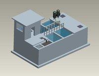 MBBR Sewage Treatment Plant Civil