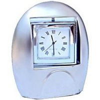 Table Clock With Photo Frame On Other Side