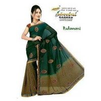 Georgette Embroidery Saree
