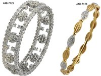 Diamond Studded Bangles