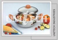 Stainless Steel Belly Shape Hot Pots