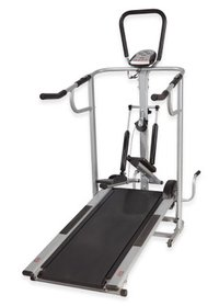 4 In 1 Manual Treadmill