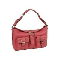 Cactus Dark Pink Leather Ladies Handbag