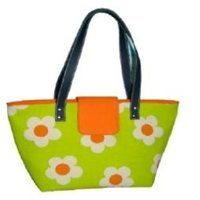 Cactus Green Jute Bag