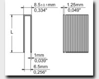 92 Series Medium Wire Staples