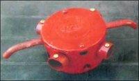 Red Colour Conduit Fan Box