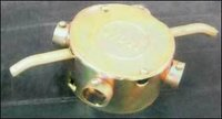 Yellow Fine Conduit Fan Box