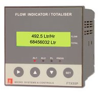 Flow Indicator Totaliser