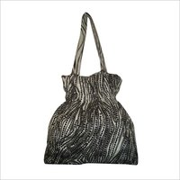 Ladies Cotton Print Hand Bags