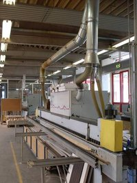 Edge Bander With PU Gluing Second Hand