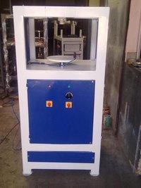 Semi Automatic Single Die Dona & Plate Making Machine