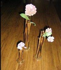 Bamboo Flower Vases