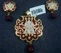 Traditional Meena Pendent Sets