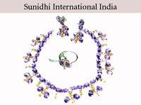 Ladies Silver Necklace Set