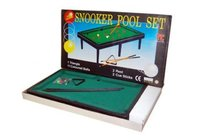 Black Snooker Pool Set Toys