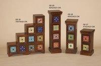 Ceramic Tile Wooden Furnitures