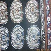 Peacock Bagru Print Fabrics
