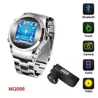 Watch Phone Mq006 Steel House Camera Expand Memory 1.5