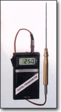 Portable Temperature Indicator With Probes