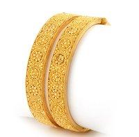 Classy Design Gold Bangles