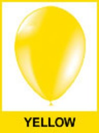 Designer Yellow Color Balloons