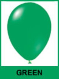 Designer Green Color Balloons
