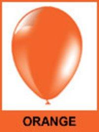 Designer Orange Color Balloons
