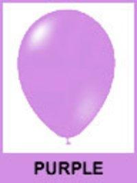 Designer Purple Color Balloons