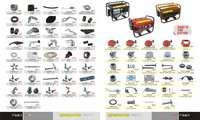 Generator Parts for GX160