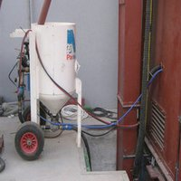 Air Assisted Blasting Machine